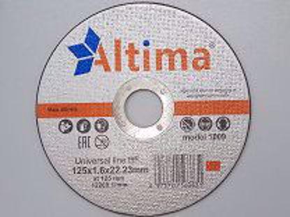Picture of Круг отрезной ALTIMA Universal  BF 125*1,6*22,23