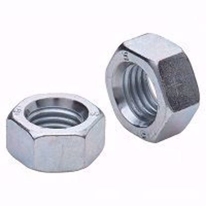 Изображение Гайка шестигранная  М4 DIN 934 А2-70 нержавеющая сталь (100)