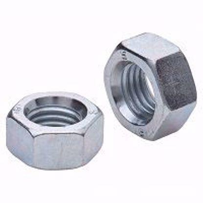 Изображение Гайка шестигранная  М5 DIN 934 А2-70 нержавеющая сталь (100)