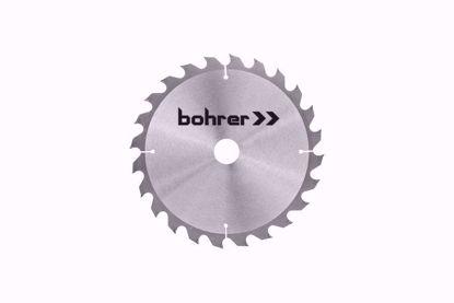 Изображение диск пильн.тв.по дер 165*20 мм, 24 зуба (быст.рез)